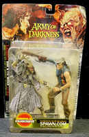 Movie Maniacs Series 4 Ash & Pit Witch from Army of Darkness - Sealed EXCLUSIVE Action Figure 2-Pack